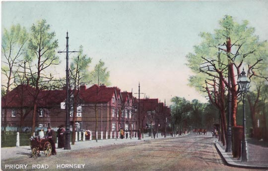 EarlyPrioryRoadPostcard
